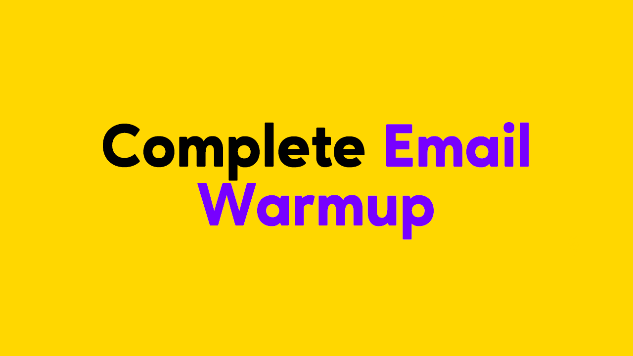 Automated Email Warmup Feature in ProspectingToolkit