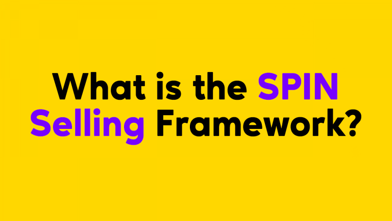 What is the SPIN Selling Framework?